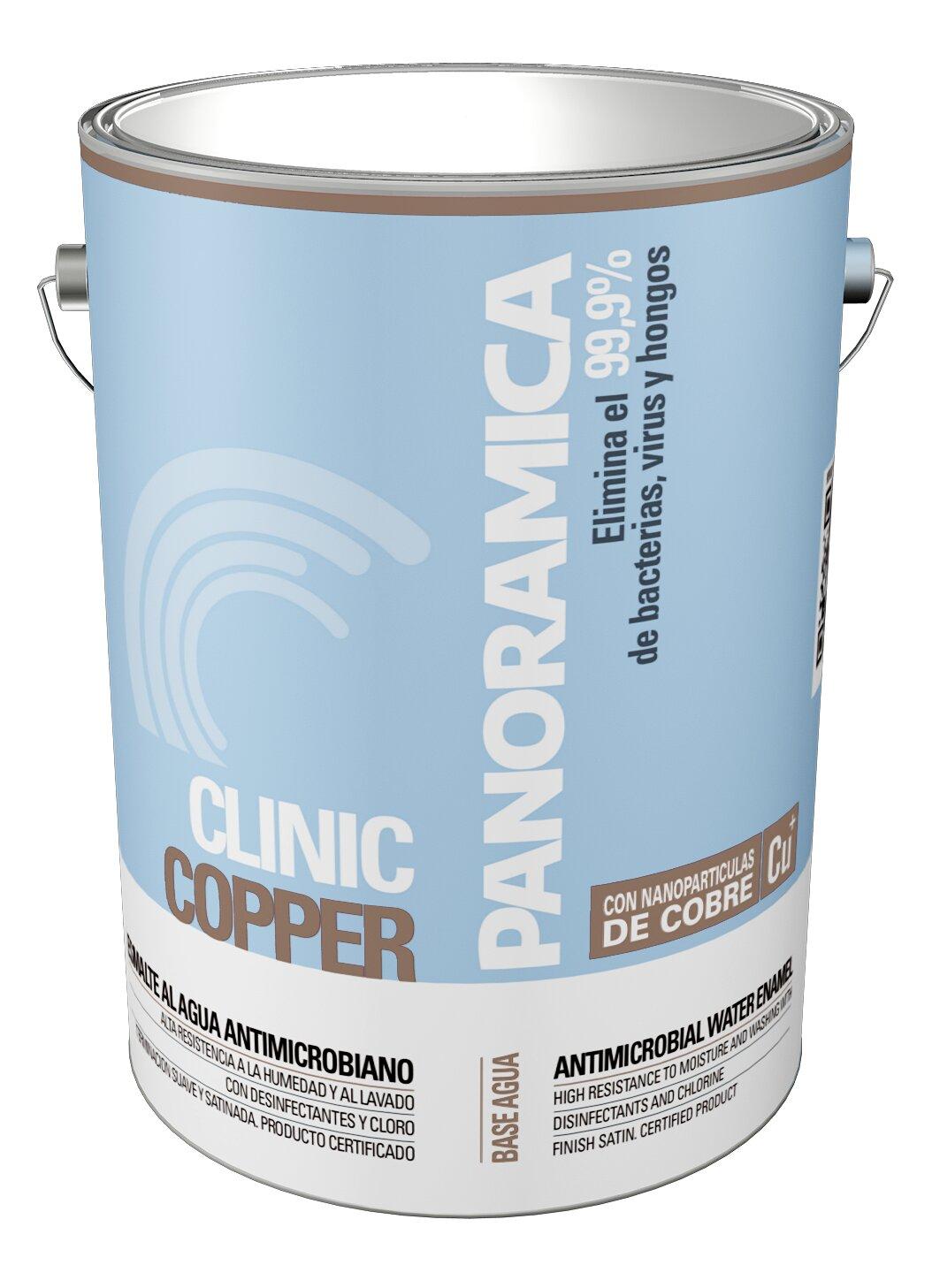 esmalte al agua clinic copper
