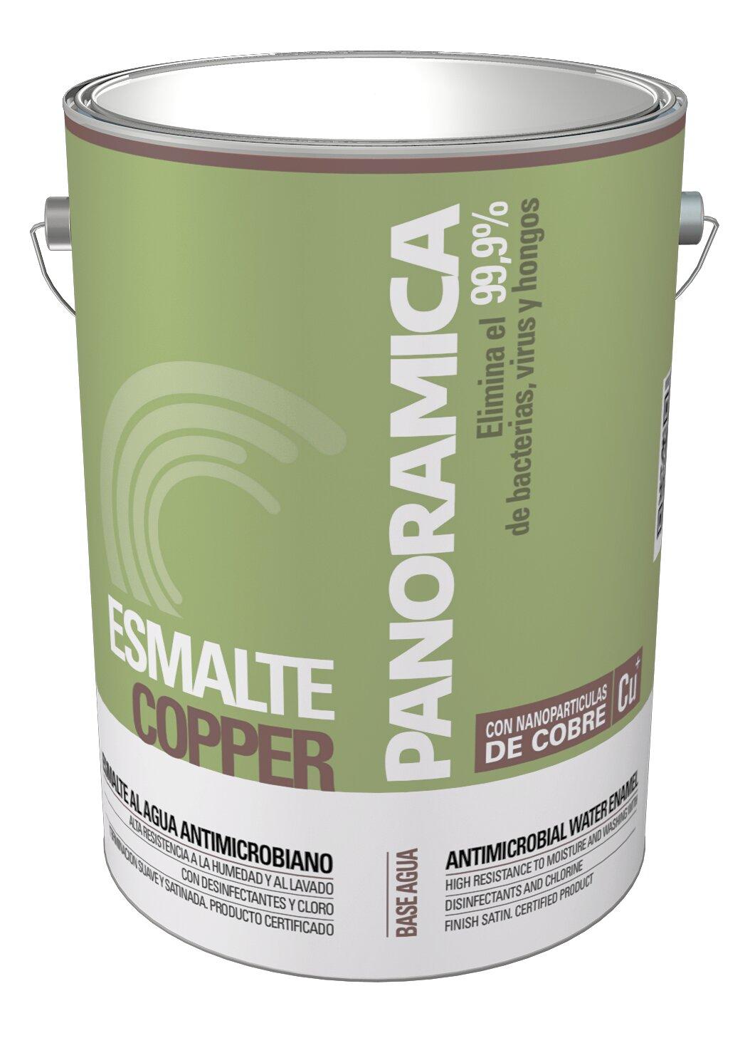 Esmalte al agua decorativo copper